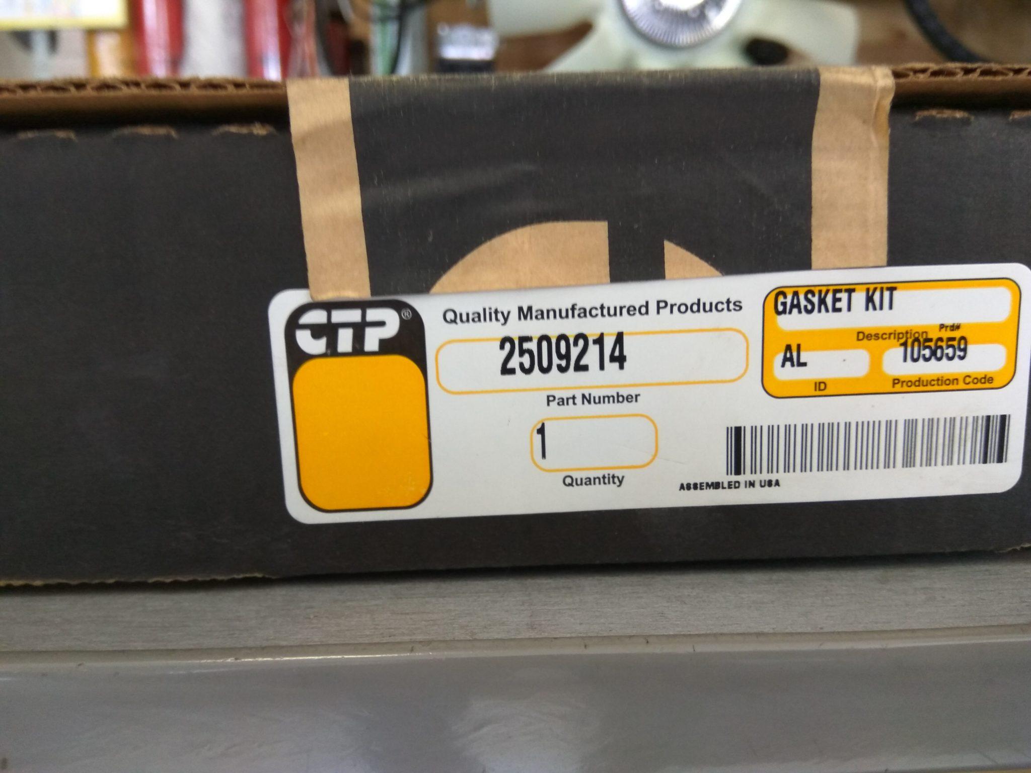 Прокладка теплообменника Лиаз-5256, CAT 3126 2509214