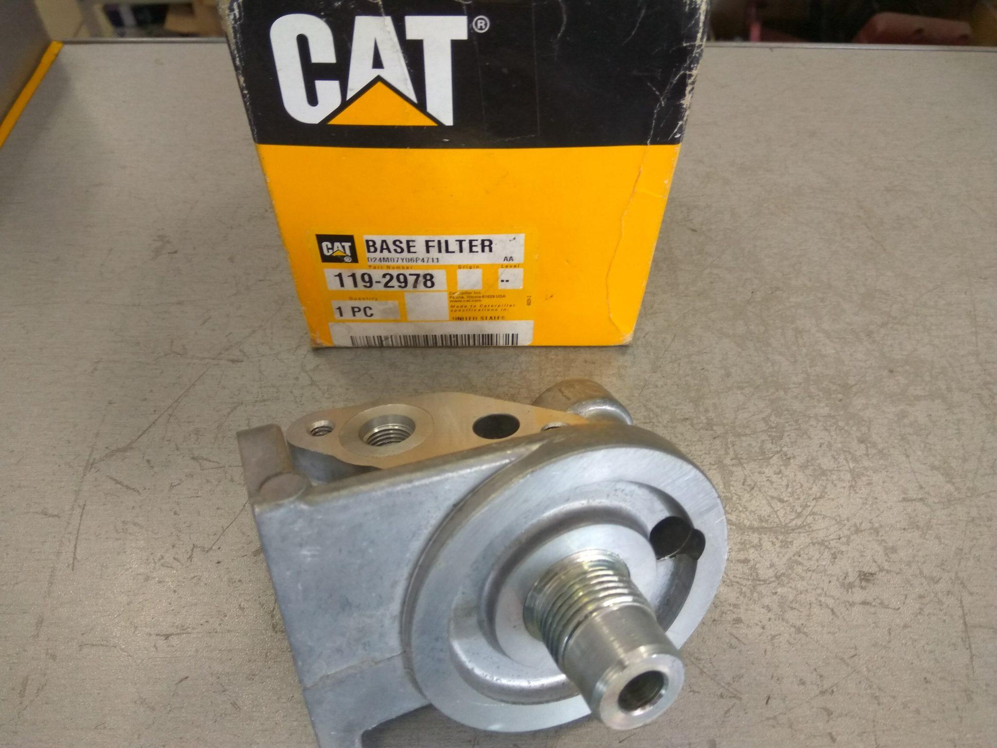 База топливного фильтра CAT3126  Original 119-2978
