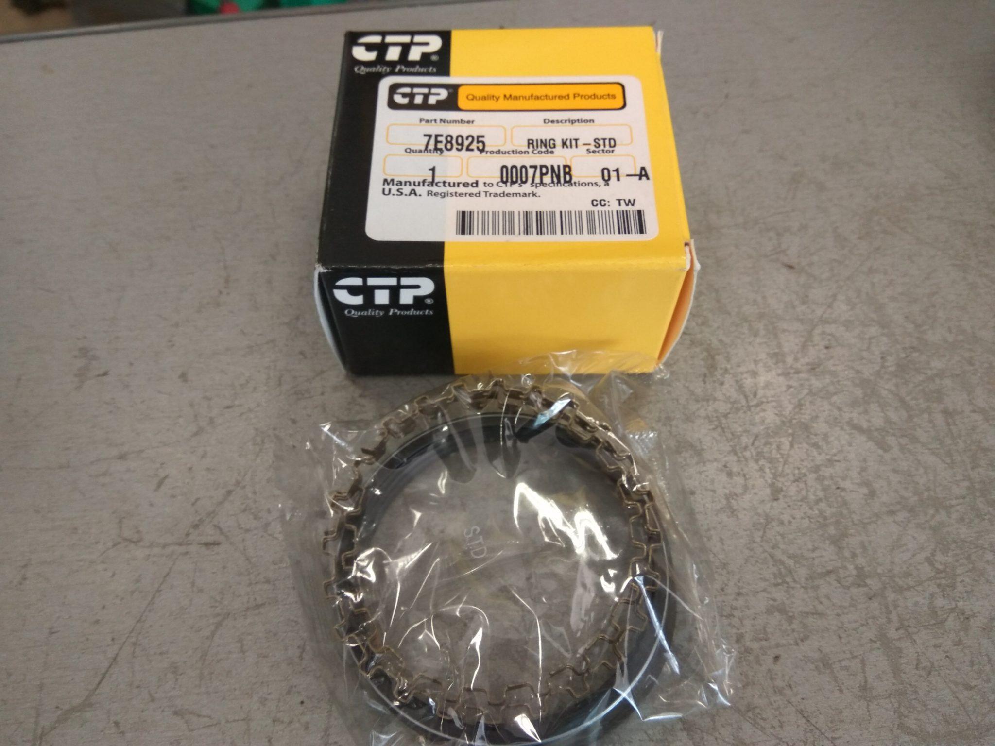 Кольца 2-цилиндр. компрес. CAT3116 std 7E8925