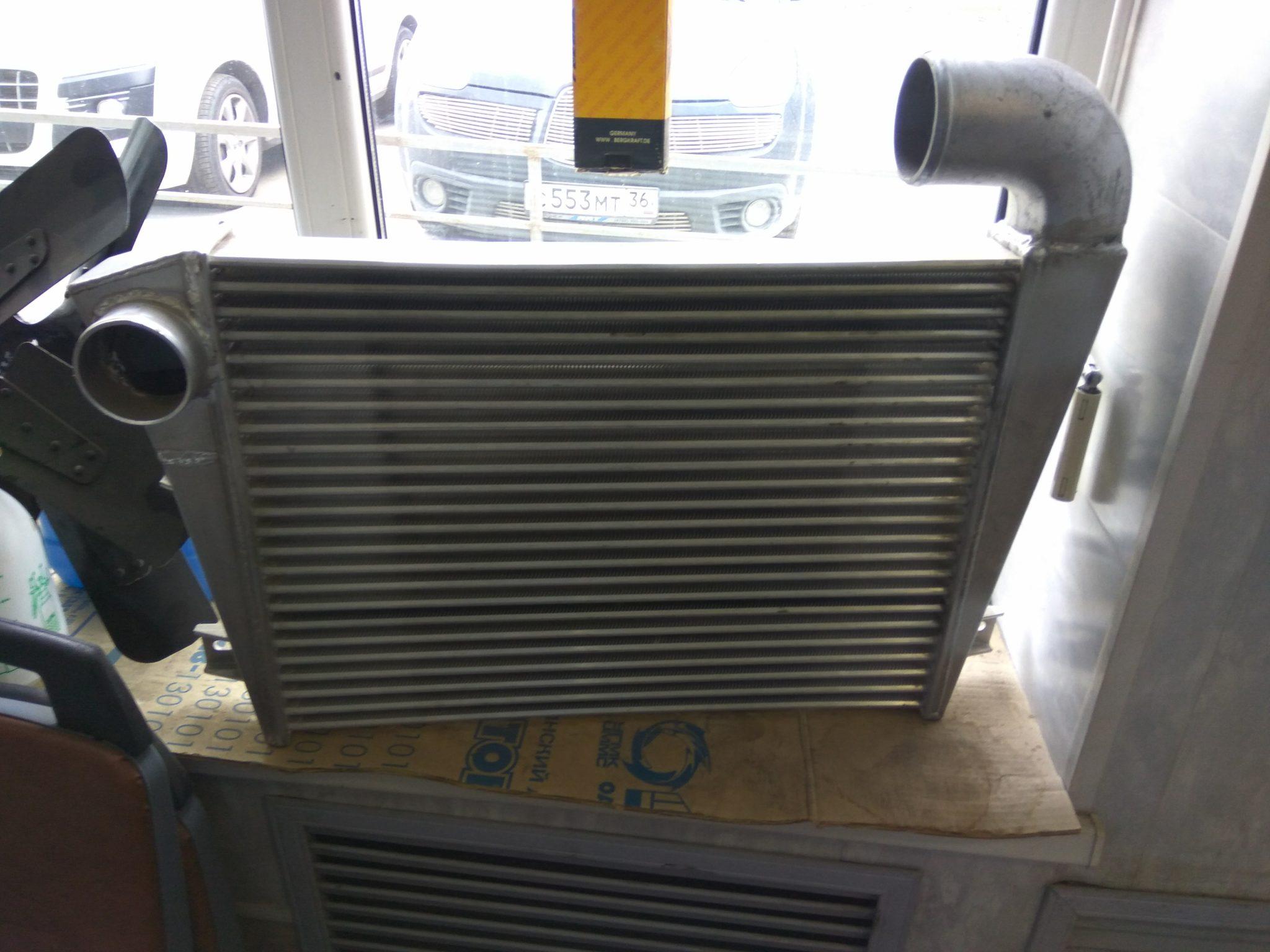 Охладитель ЛиАЗ ЯМЗ 525630-1172003-06 Таспо