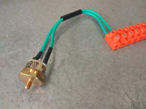 Термостат отопителя аварийный Webasto (Ограничитель нагрева 117°C (зеленый)  408719)